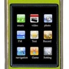 8GB TOUCH SCREEN PERSONAL MEDIA PLAYER (GREEN)