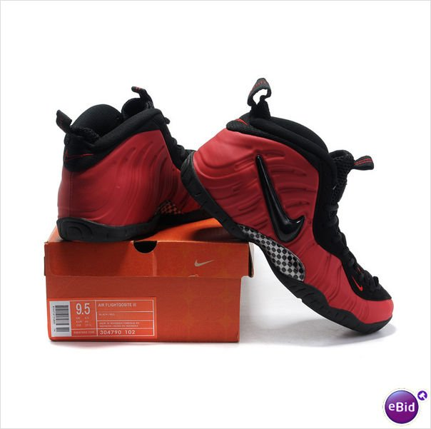 Nike Air Foamposite Pro 2011 - Penny Hardaway Shoes Red