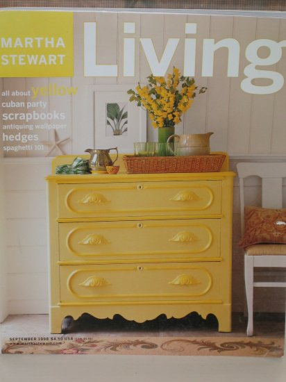 Martha Stewart Living September 1998 Issue 92