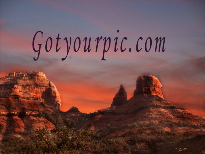 Sedona Scenery 4 Original Digital Downloads