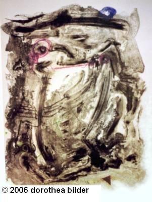 Estella I -- Original Stone Lithograph Dorothea Bilder 45