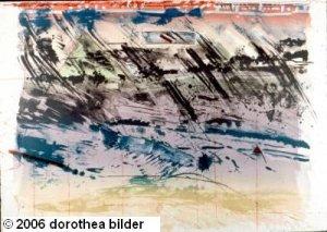 View of Rio -- Original Stone Lithograph Dorothea Bilder 28