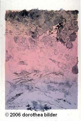 Luz e Gigante -- Original Signed Lithograph Dorothea Bilder LE 40 s