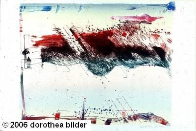 Tropic of Capricorn -- Original Stone Lithograph Dorothea Bilder 30 s
