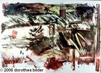 Brazilian Contrasts -- Original Stone Lithograph Dorothea Bilder 29 s