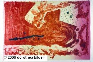 Island in the Sun -- Original Stone Lithograph Dorothea Bilder 1 s