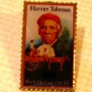 Harriet Tubman stamp pin McDonalds Black Heritage 1744mc S