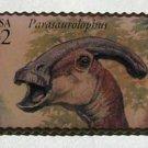 Parasaurolophus Dinosaur stamp pin lapel pins hat 3136o s