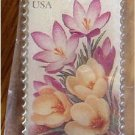 Crocus Garden Flower stamp pin lapel pins tie tac 3025 s