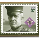 Distinguished Marine Daly stamp pin lapel pins hat 3964