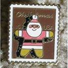 Christmas Santa cloisonne lapel pins hat stamp pin 1800