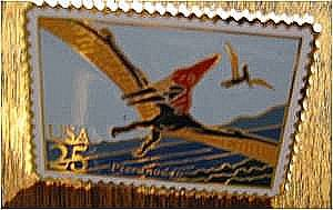 Pteranodon Dinosaur stamp pin cloisonne lapel pins 2423 S