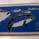 Bluefin Tuna stamp pin lapel pins hat collectible 2208