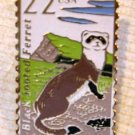 Black-footed Ferret Wildlife stamp pin lapel pins 2333 S
