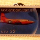 Supersonic Flight Stamp Pin lapel pins hat tie tac 3173 S