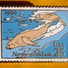 Northern Sea Lions stamp pin lapel pins tie tac 2509 S