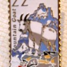 Mountain Goat Wildlife stamp pin lapel pins hat 2323