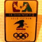 USPS Olympic Festival 1991 LA pin lapel pins hat m5 exc