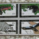 Trout Alligator Condor Bear stamp pin lapel pins hat 1427-30