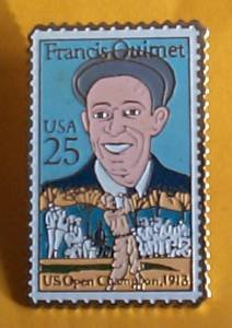 Francis Ouimet Golf stamp Pins tie tac hat lapel pin 2377