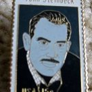 John Steinbeck by Haisman stamp pin lapel hat 1773
