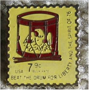 Drum Music cloisonne stamp pin lapel pins hat 1615