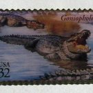 Goniopholis Dinosaur stamp pin lapel pins hat new 3136e s
