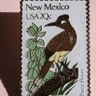 New Mexico Roadrunner Yucca stamp pin lapel pins 1983 S