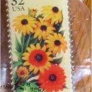 Rudbeckia Garden Flower stamp pins lapel pin hat 2997 s
