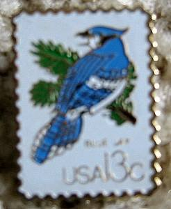 Blue Jay CAPEX 1978 stamp pins lapel pin hat 1757d