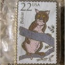 Bobcat Wildlife stamp pin lapel pins hat tie tac 2332