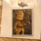Percy Skippy Doll Stamp pin lapel hat tie tac pins new 3151m S