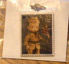 Percy Skippy Doll Stamp pin lapel hat tie tac pins new 3151m S