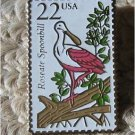 Roseate Spoonbill Wildlife stamp pins lapel pin hat new 2308
