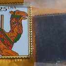 Carousel Animals Camel Stamp magnet cloisonne 2392mg