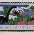 Age of Reptiles Dinosaurs stamp pins lapel pin hat 1390 S