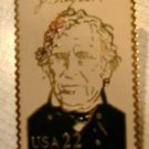 Zachary Taylor lapel stamp pin lapel pins hat 2217c S