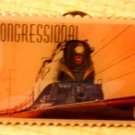 Congressional Train Stamp Pin lapel pins hat 3334 S