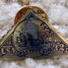 Sailing Ship Pacific 97 stamp pin lapel pins hat 3130