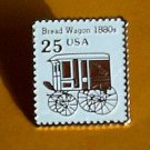 Bread Wagon Stamp Pin collectible lapel pins hat 2136