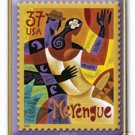 Let's Dance Merengue Bailemos stamp pin lapel hat 3939