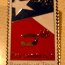 Texas Republic stamp pin lapel pins hat tie tac 2204