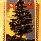 Michigan Statehood stamp pin lapel pins hat 2246