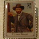 Civil War Ulysses S. Grant stamp pin lapel pins 2975d S