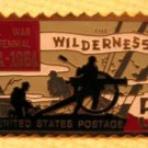 Wilderness Centennial 5c stamp pin lapel pins hat 1181
