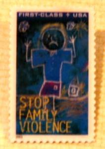 Stop Family Violence Stamp Pin tie tac lapel pins B3 S