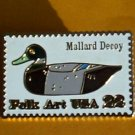 Duck Decoy Mallard Stamp Pin cloisonne lapel pins 2139