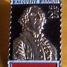 Executive Branch Washington Bicentennial Stamp Pin 2414 s