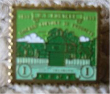 Fort Dearborn Chicago lapel pins stamp pin tie tac 728