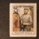 General Stonewall Jackson (Civil War) stamp pin lapel 2975s S